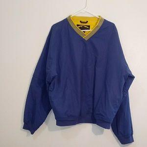 Sun Mountain golf jacket size L blue